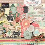 Pixel Scrapper April 2016 Blog Train Life in Full Bloom Freebie Kit from Antebellum Press