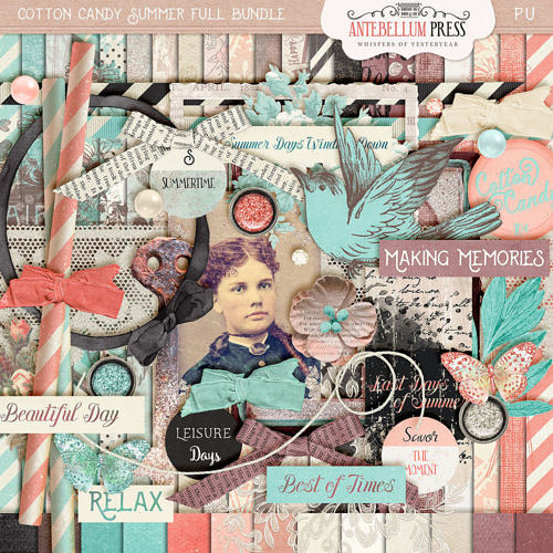Cotton Candy Summer Bundle from Antebellum Press
