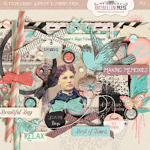 Cotton Candy Summer Element Pack from Antebellum Press