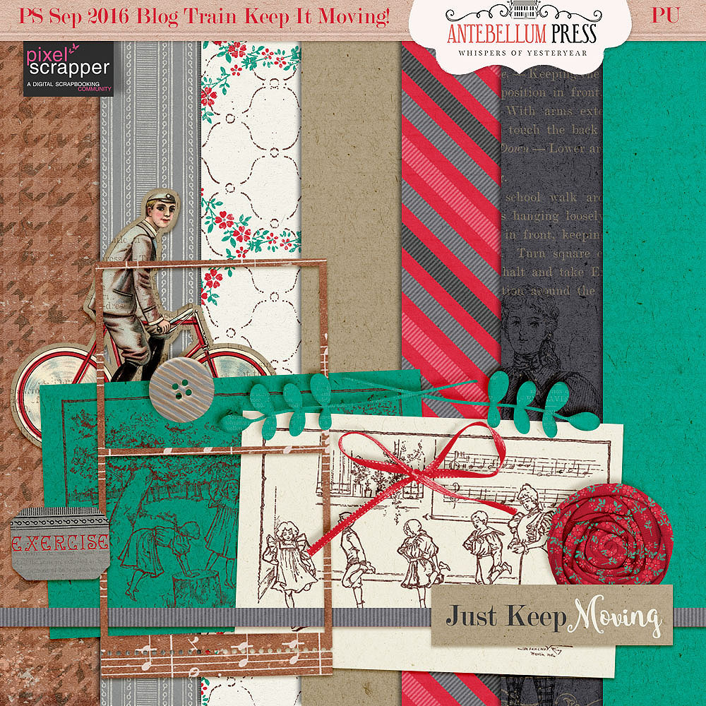 Antebellum Press Keep it Moving Blog Train freebie