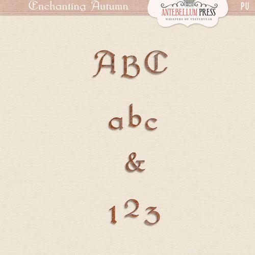 Enchanting Autumn Kit [Alpha] from Antebellum Press