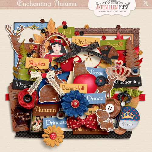 Enchanting Autumn Kit [Elements] Freebie from Antebellum Press