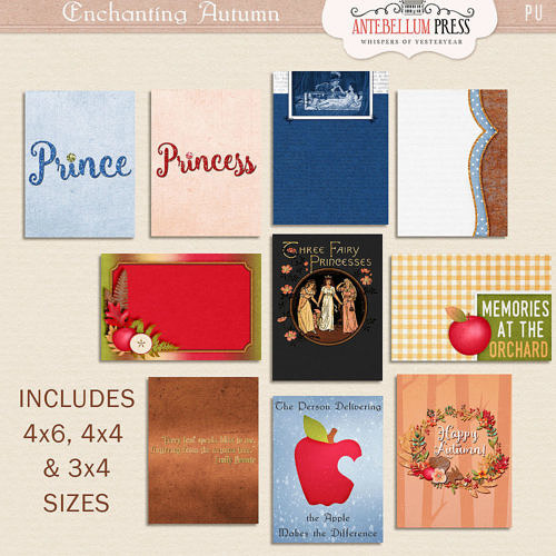 Enchanting Autumn Kit [Journal Cards] from Antebellum Press