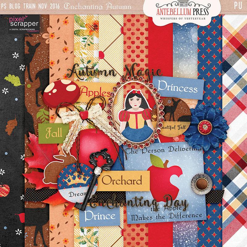 PS Nov 2016 BT Enchanting Autumn Kit Freebie from Antebellum Press