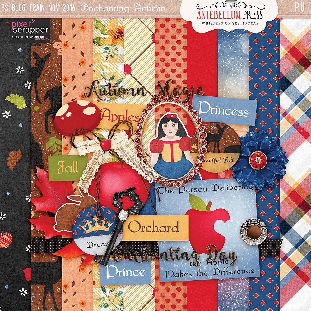 PS Nov 2016 BT Enchanting Autumn Kit Freebie from Antebellum Press