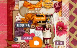 Harvest Pie Kit Freebie from Antebellum Press