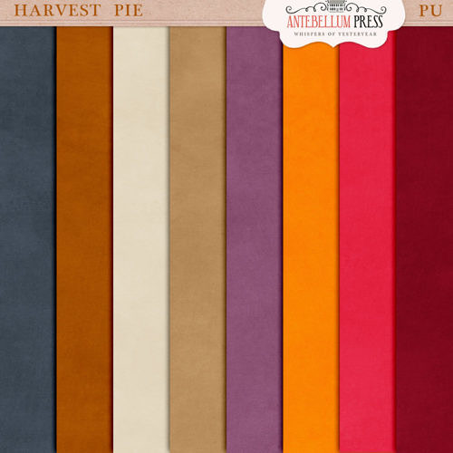 Harvest Pie Kit [Solid Papers] Freebie from Antebellum Press