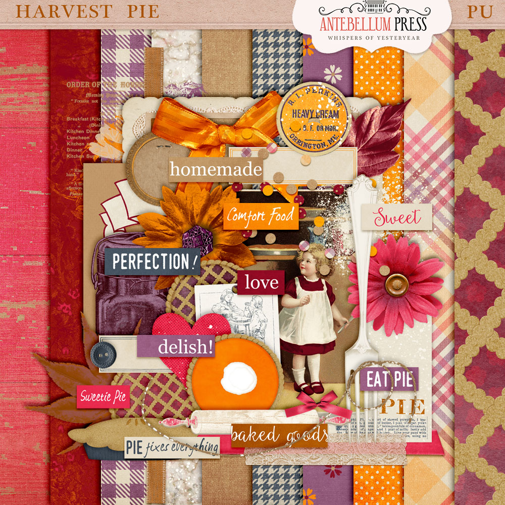 Harvest Pie Kit Freebie from Antebellum Press