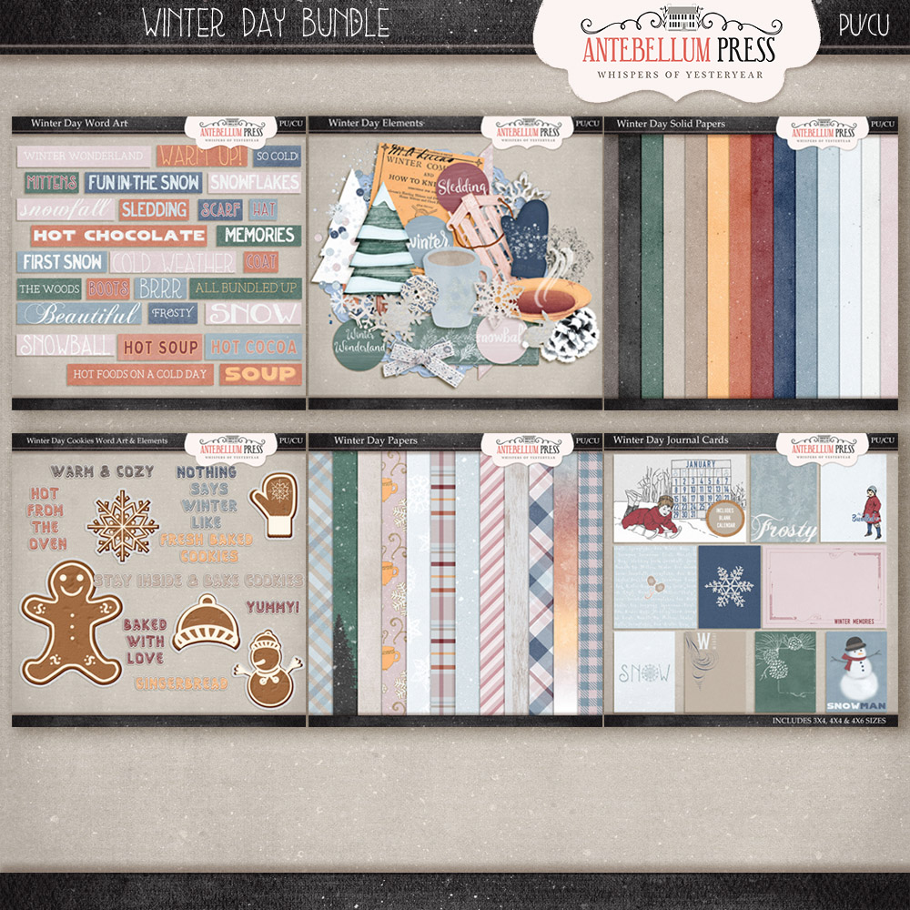 New Product – Winter Day Bundle In Shoppe