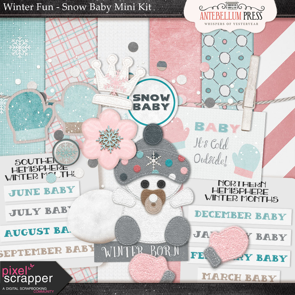 PS February 2017 Winter Fun Blog Train Freebie +Bundle