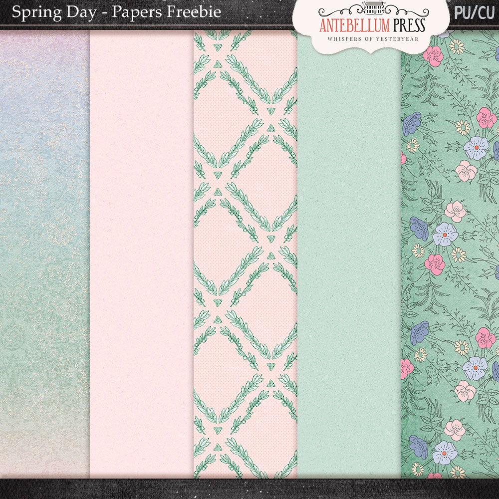 Spring Day Blog and Newsletter Freebies