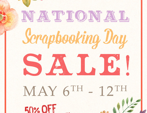 National Scrapbooking Day Sale!