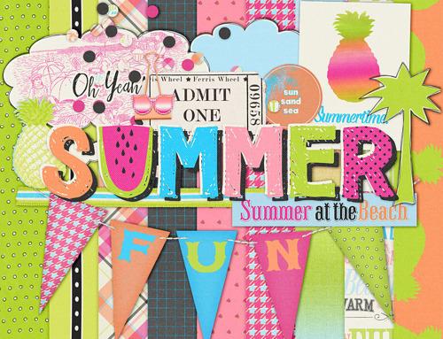 Summer Lovin' PS Blog Train Freebie