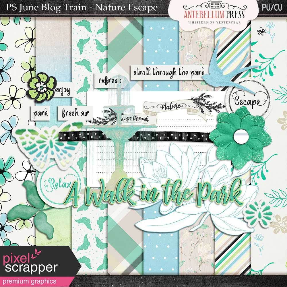 PS June 2017 Blog Train – Nature Escape + Sneak Peek!