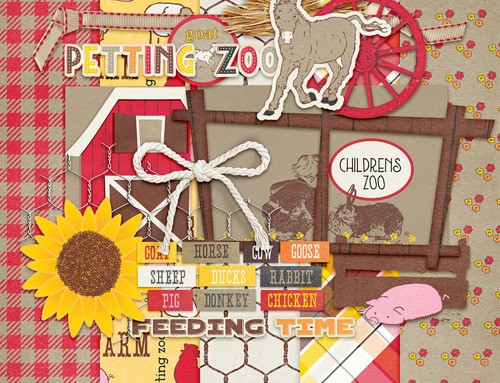 PS September Petting Zoo Blog Train Freebie