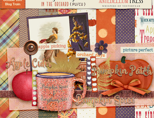 PS October 2017 Blog Train Pumpkin Spice