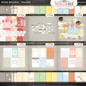 Antebellumpress Baby Shower Bundle