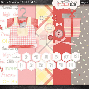 Antebellumpress Baby Shower Girl Addon