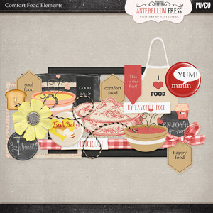 Antebellumpress Comfort Food Elements