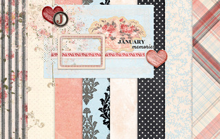 PS 2018 January Blog Train - Treasured Free Mini Kit @ antebellumpress.com