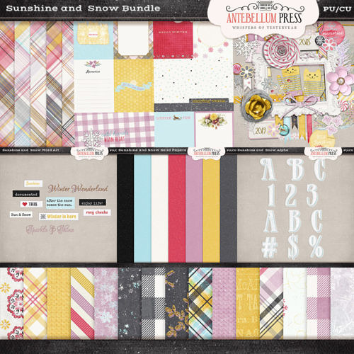 Antebellumpress Sunshine and Snow Bundle