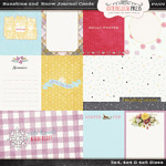 Antebellumpress Sunshine and Snow Journal Cards