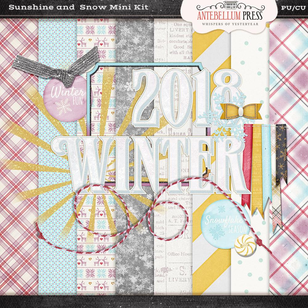 Antebellumpress Sunshine and Snow Mini Kit