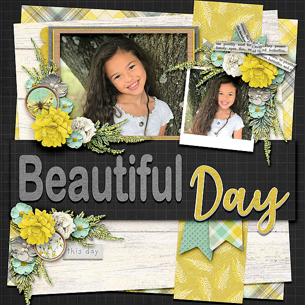 Kit: Naturally Curious by Jessica Dunn | Template: February 2021 Templates by Connie Prince